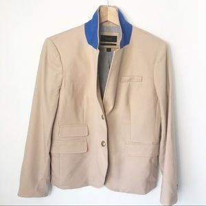 J Crew Schoolboy Blazer Jacket Camel lined